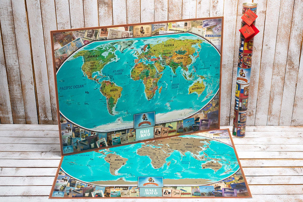 My Map Vintage edition ENG